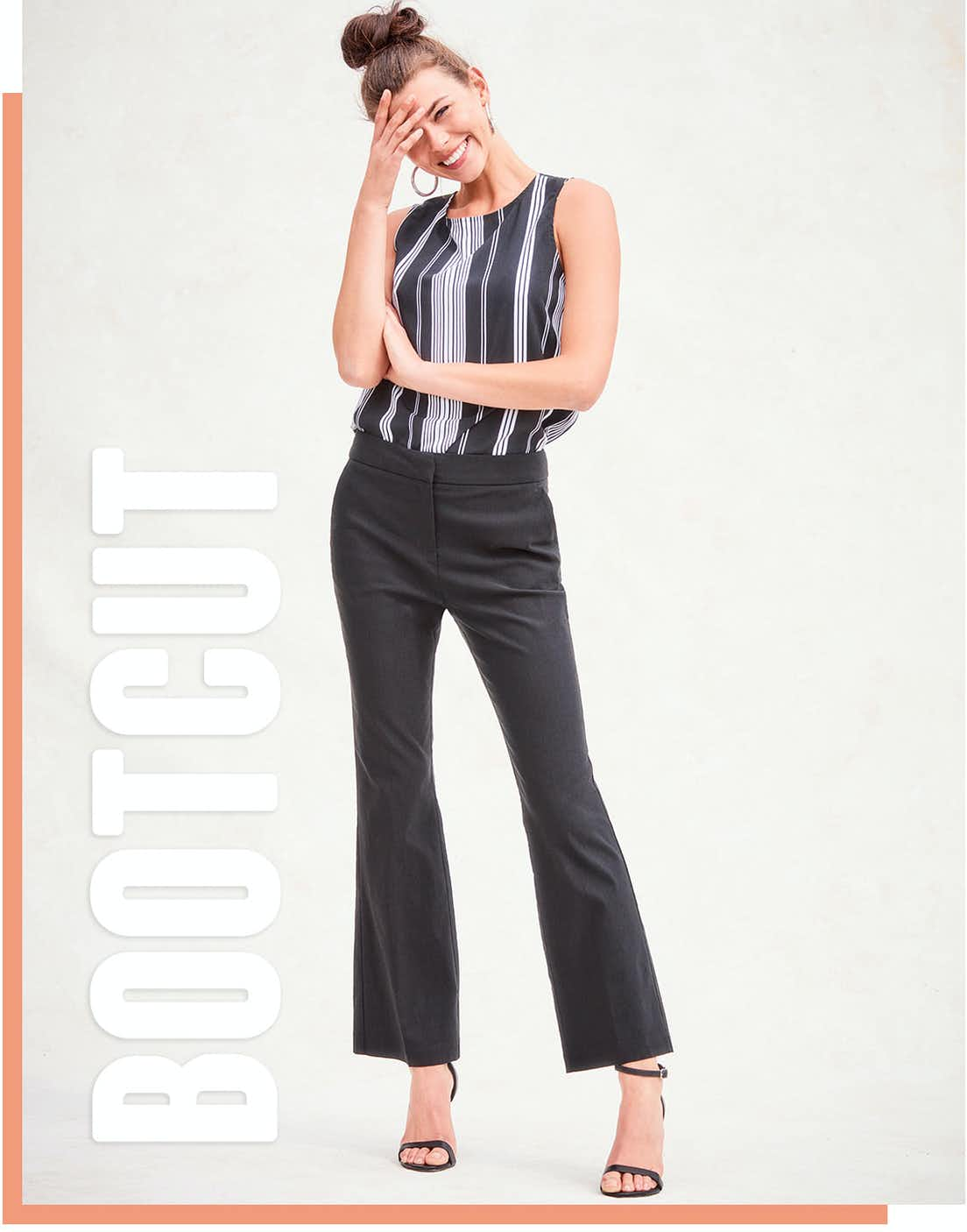 Shop bootcut trousers