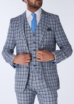 Henley & Knight Thomas Check Suit Jacket