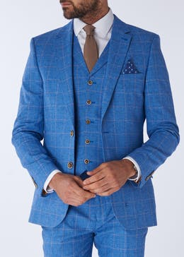 Henley & Knight Greenwood Check Suit Jacket