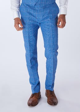 Henley & Knight Greenwood Check Suit Trousers