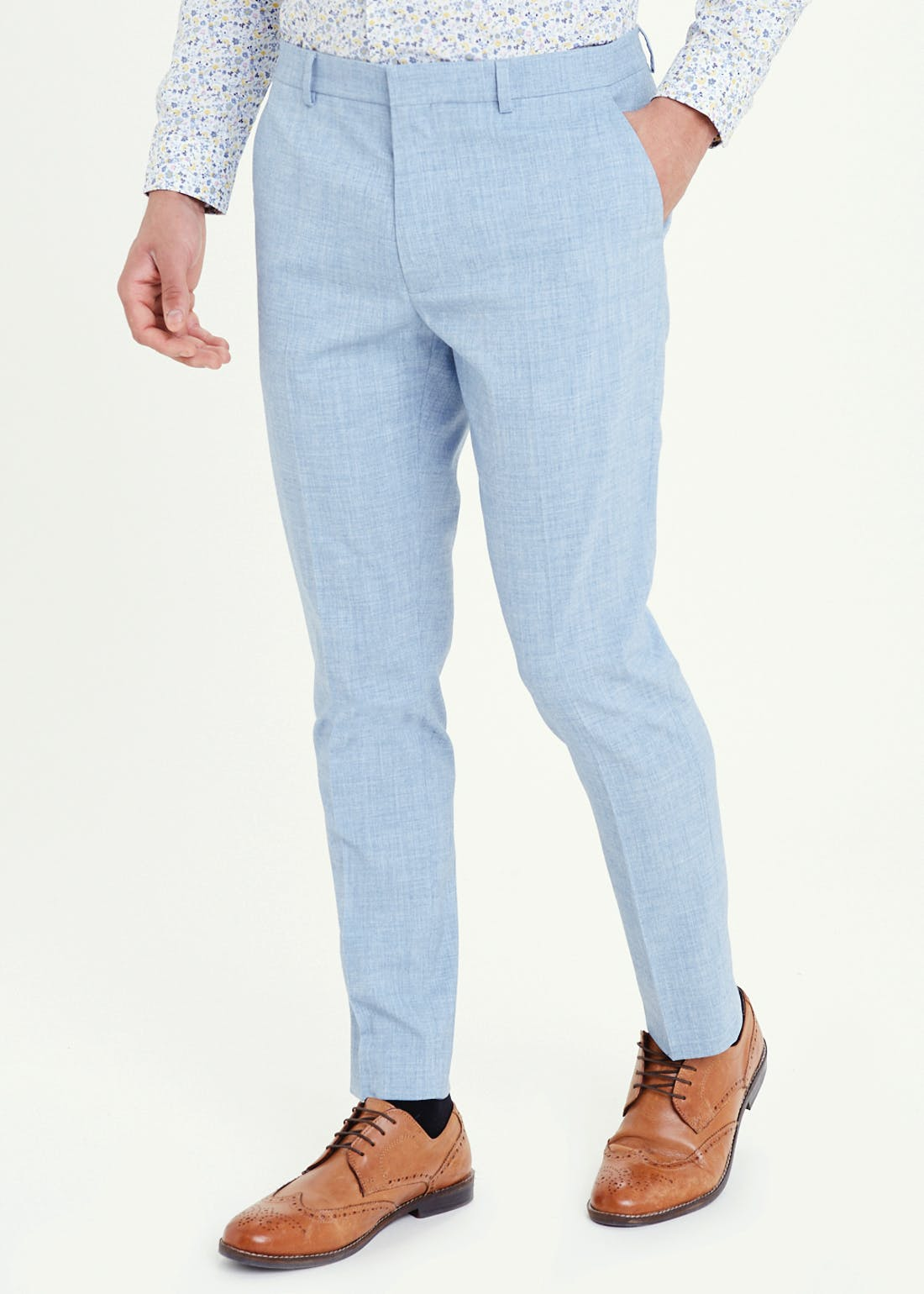 Taylor & Wright Pearson Skinny Fit Suit Trousers