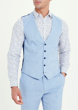 Taylor & Wright Pearson Skinny Fit Suit Waistcoat