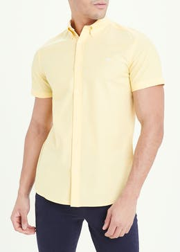 Short Sleeve Slim Fit Oxford Shirt