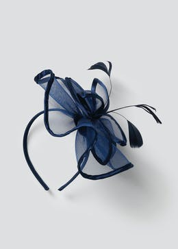 Flower Satin Fascinator