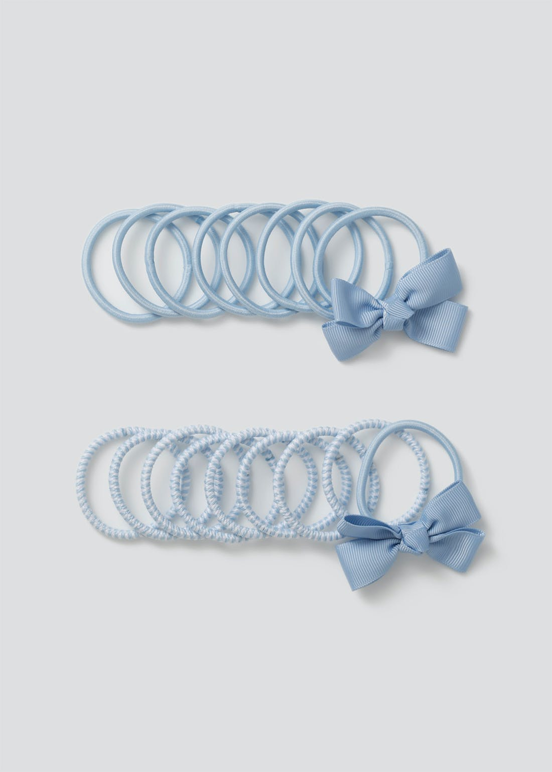 Girls Blue School Hair Band Pack