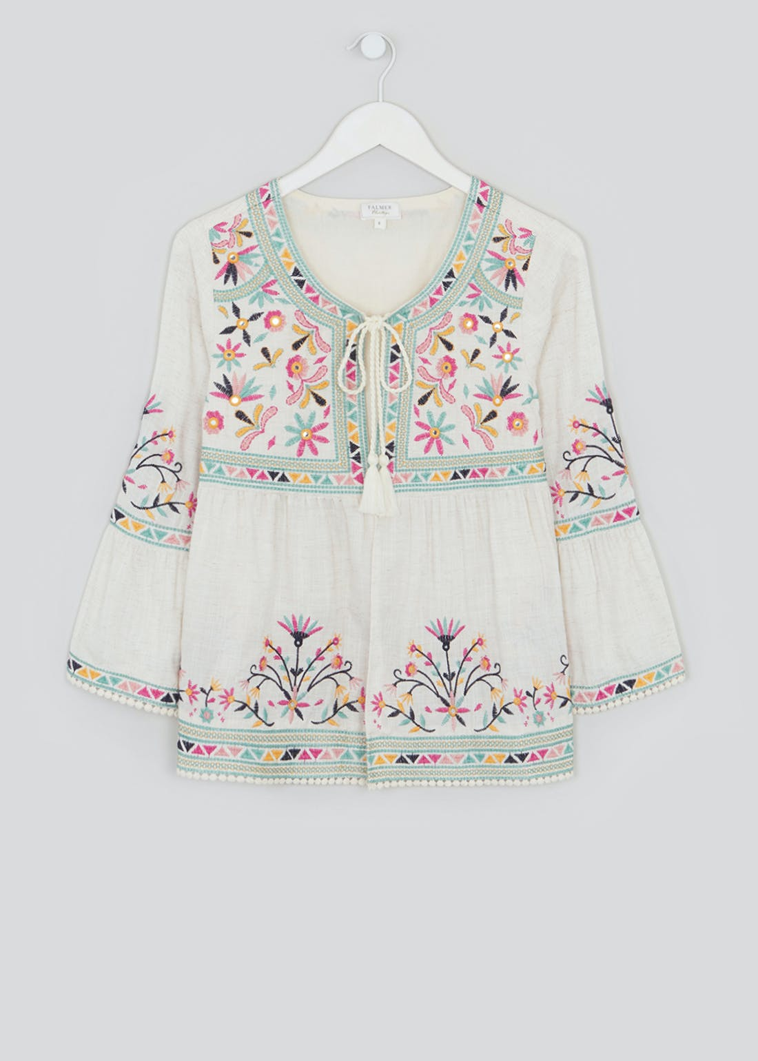 Falmer Embroidered Cover Up