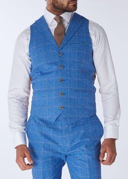 Henley & Knight Greenwood Check Suit Waistcoat