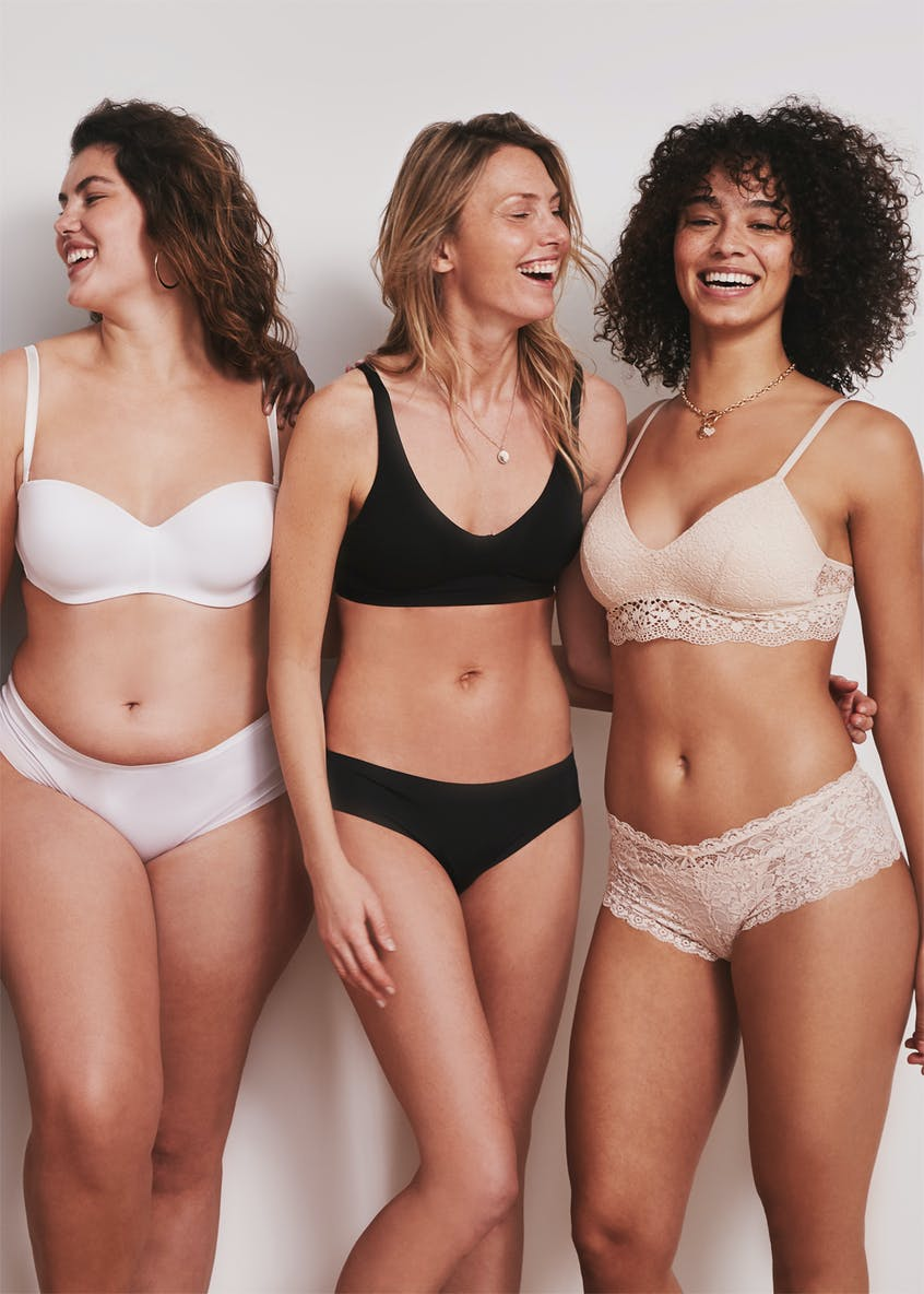3 Pack Lace Bralets