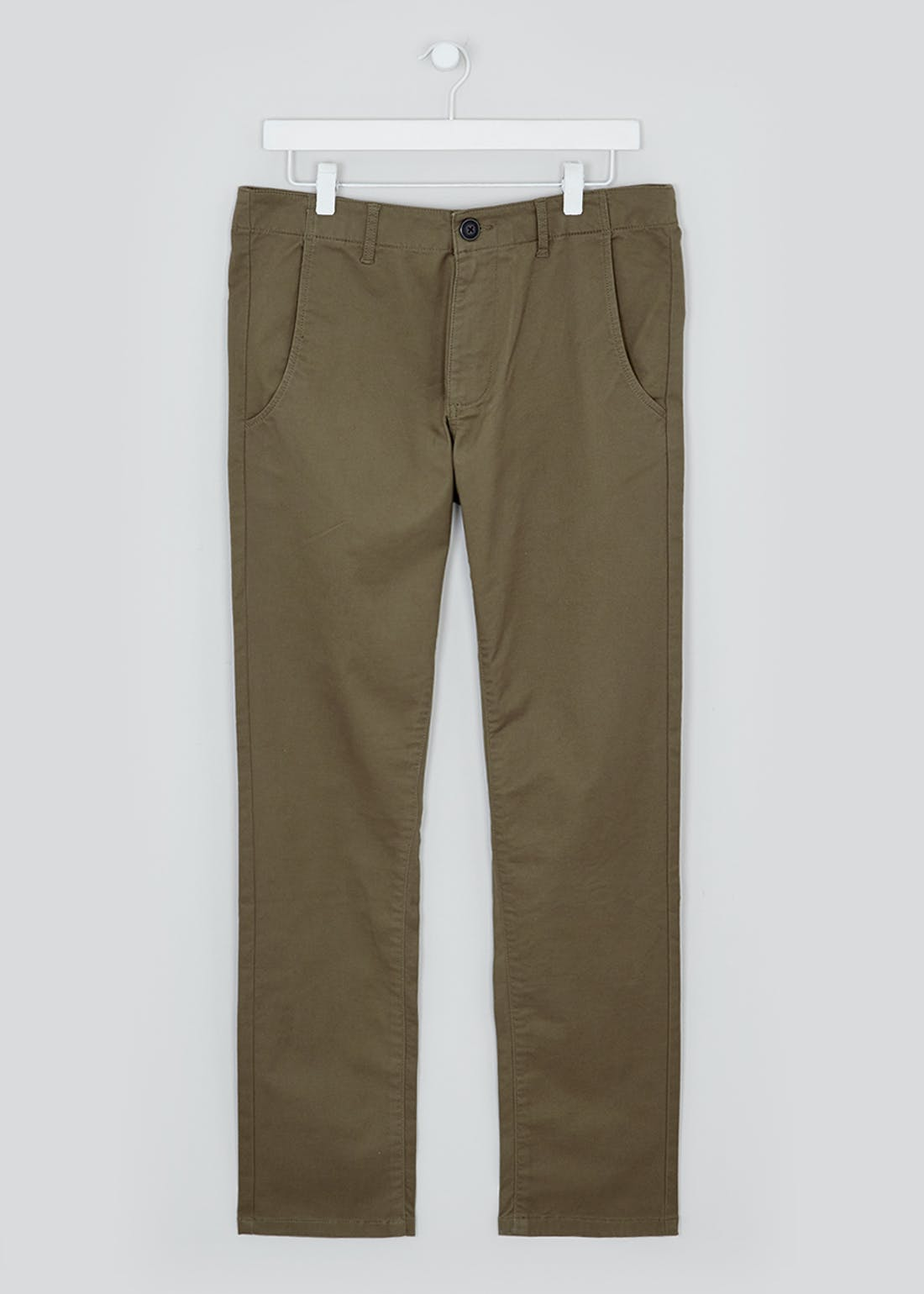 Laundered Slim Fit Chinos