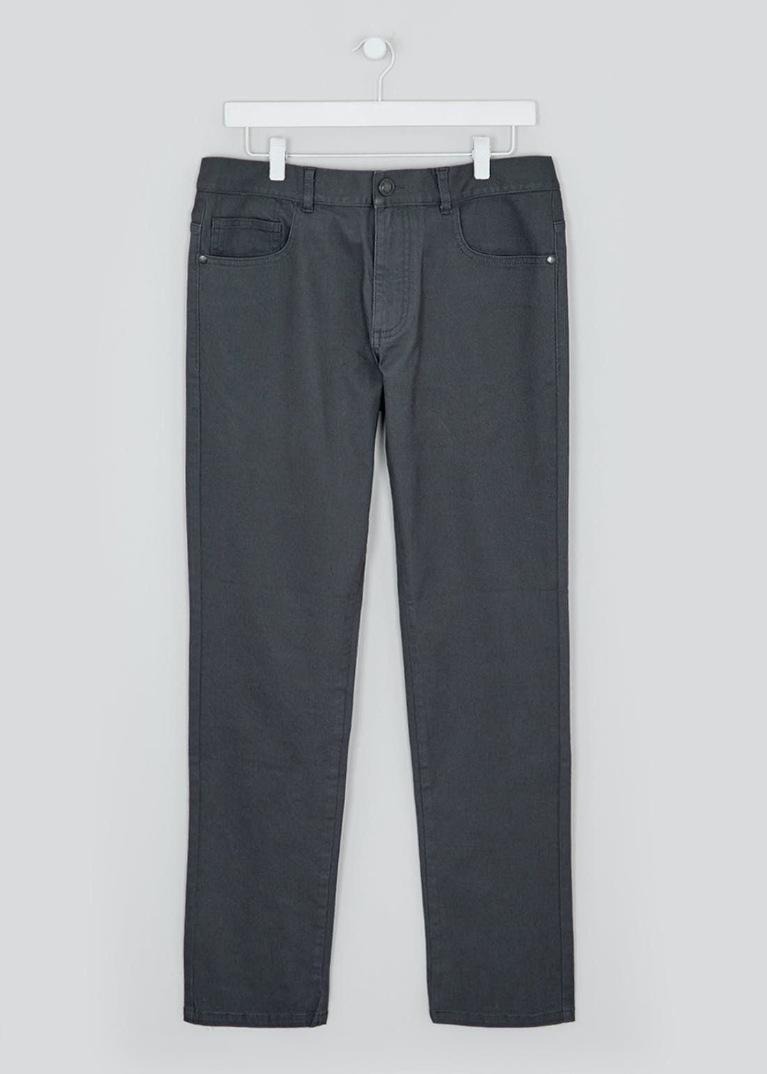 Slim Fit Twill Trousers