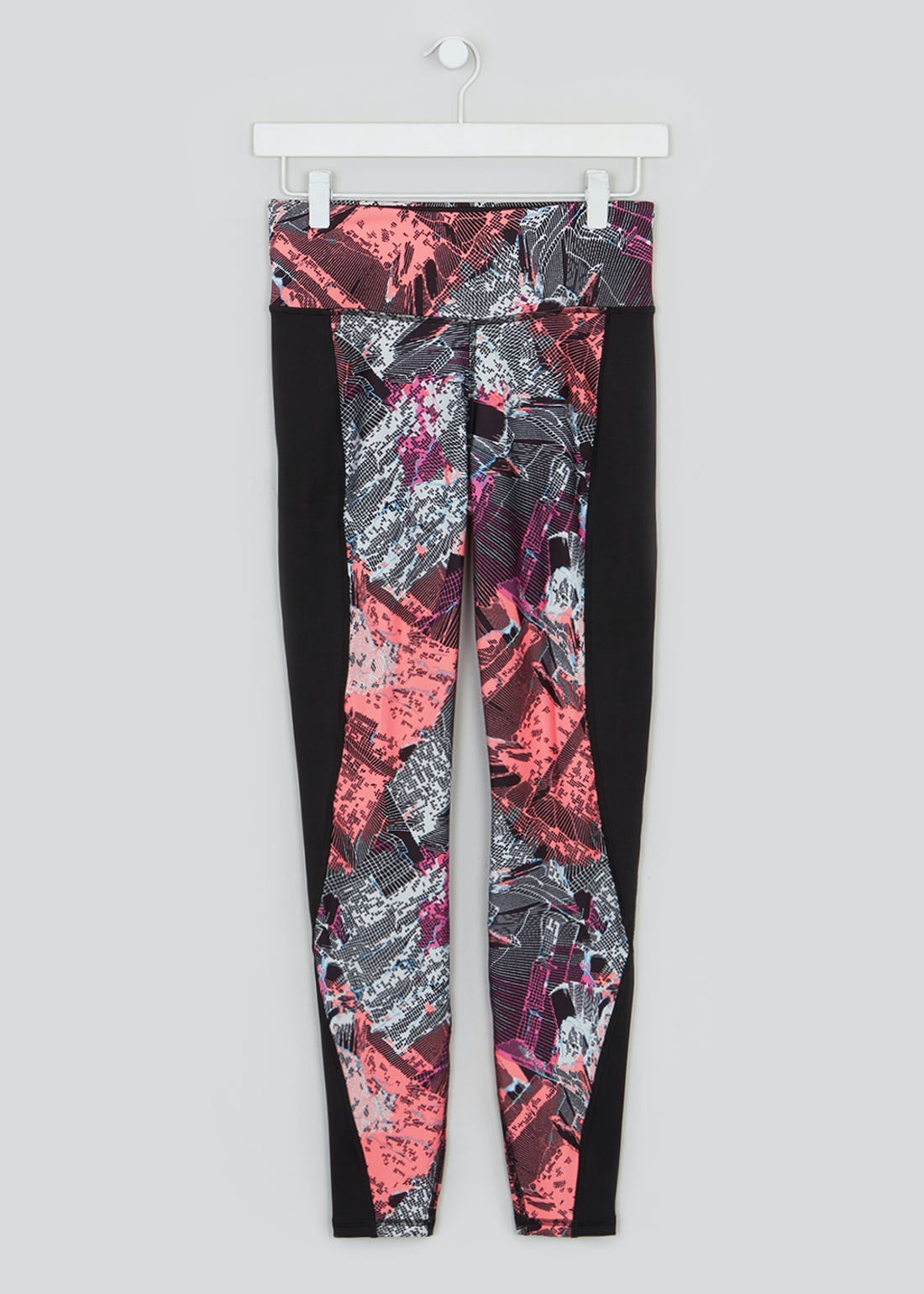 Souluxe Glitch Print Gym Leggings