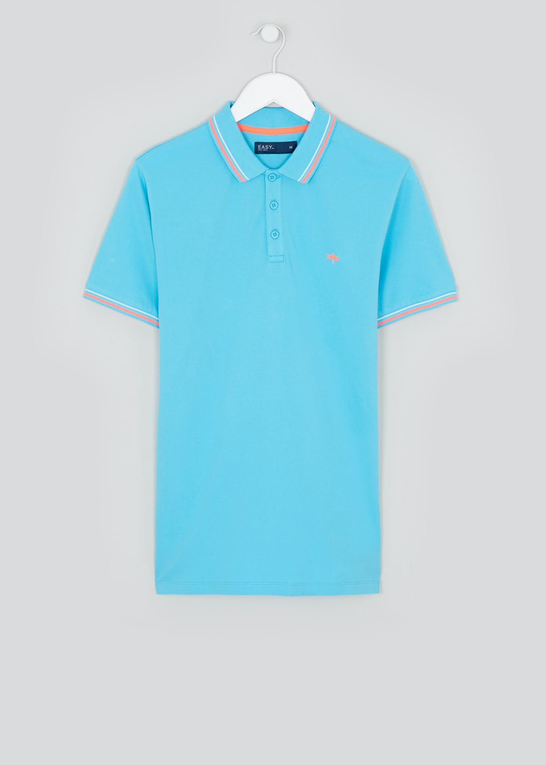 Big & Tall Neon Tipped Polo Shirt