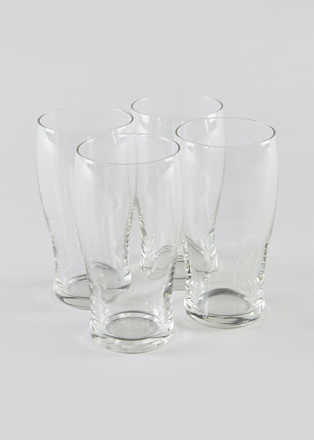4 Pack Pint Glasses (16cm x 8cm)
