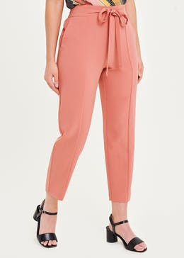 Smart Belted Joggers