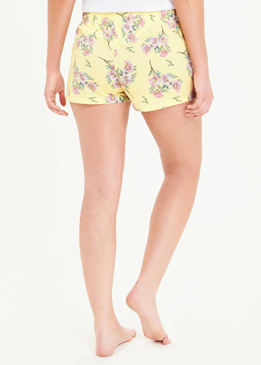 Mix & Match Floral Pyjama Shorts