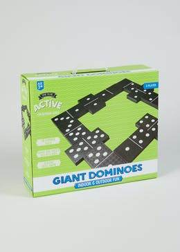 Kids Giant Dominoes Game (36.5cm x 31cm x W10cm)