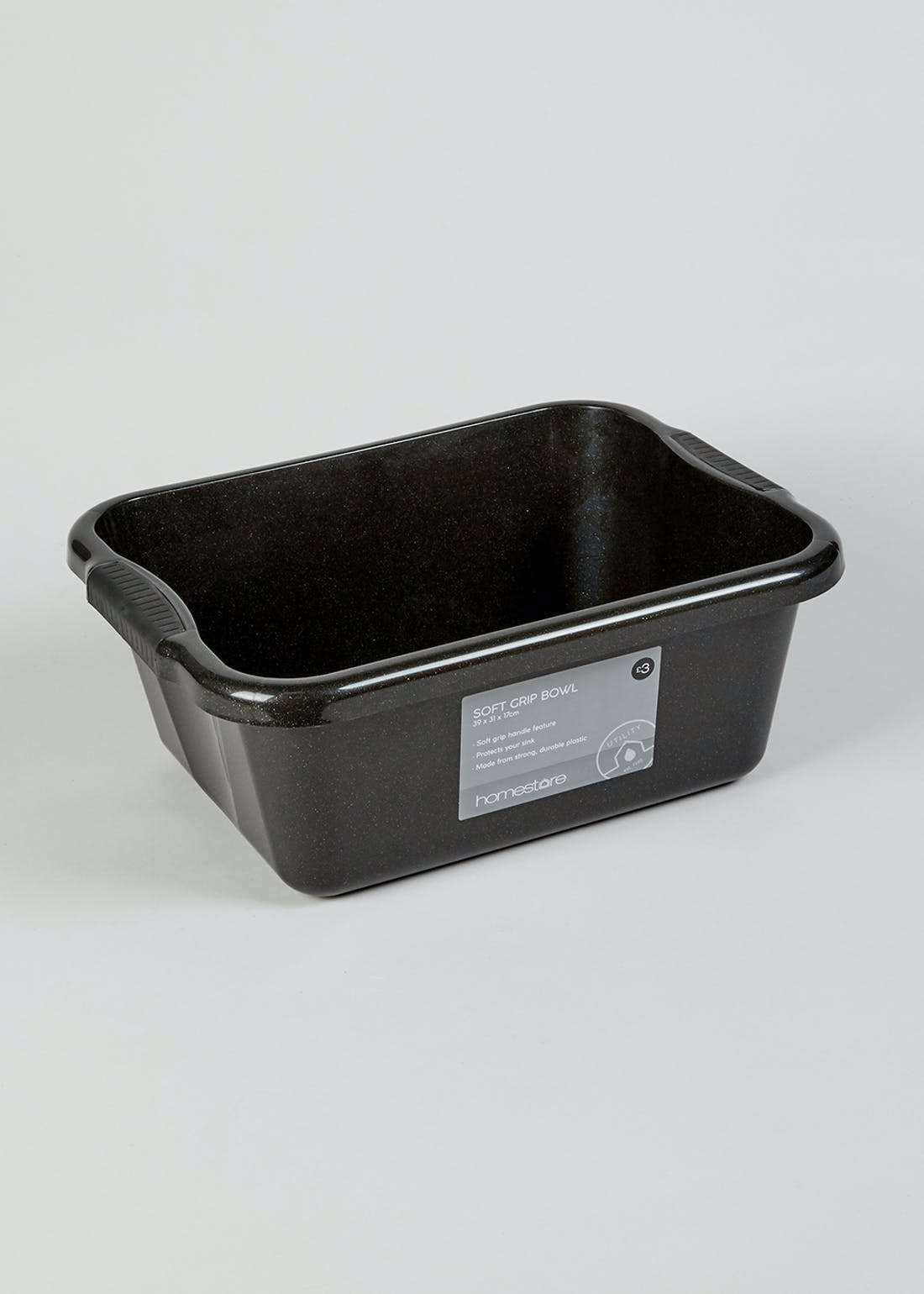 Soft Grip Washing Up Bowl (39cm x 31cm x 17cm)