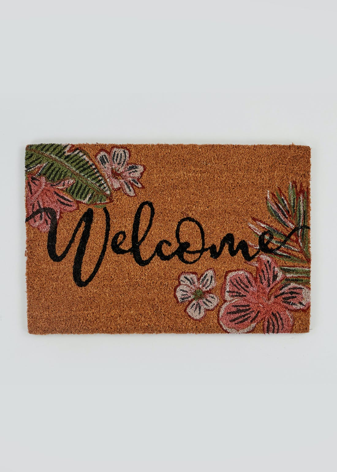 Floral Welcome Mat (60cm x 40cm)