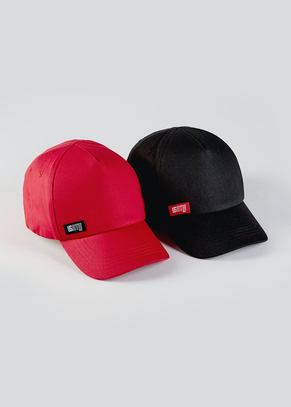 Boys 2 Pack US Athletic Caps (7-13yrs)