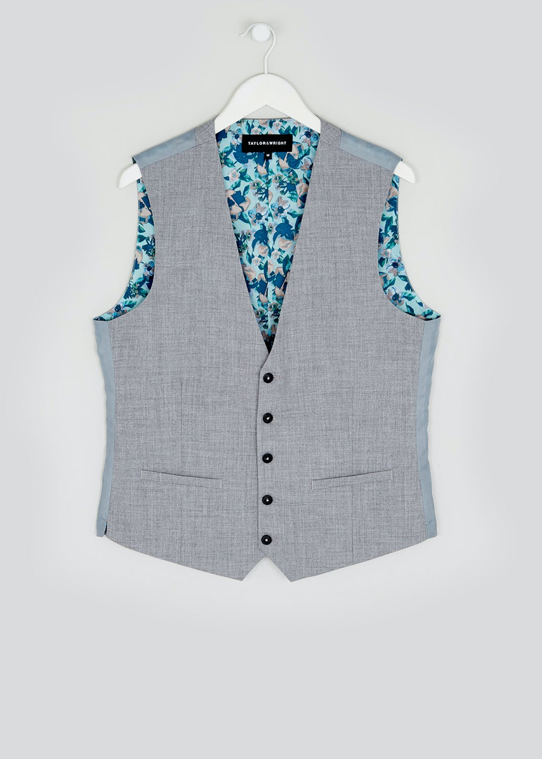 Taylor & Wright Simmons Slim Fit Suit Waistcoat
