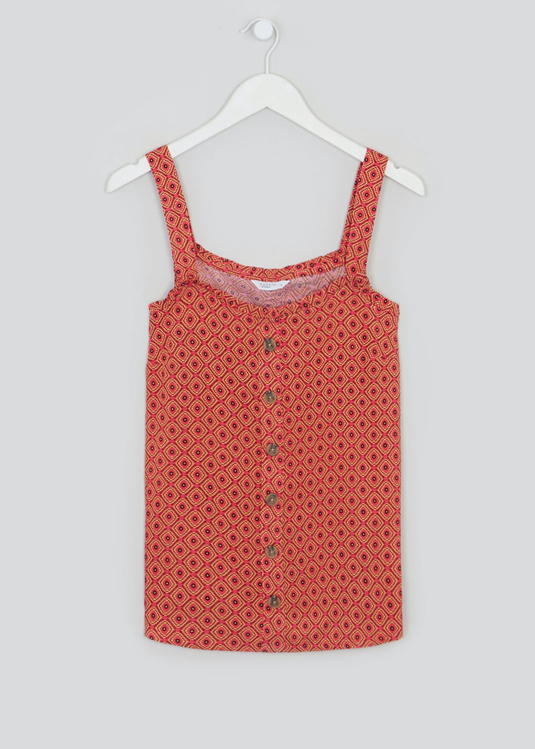 Printed Co-Ord Vest Top