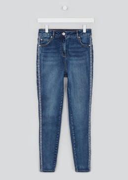 April Side Tape Skinny Jeans