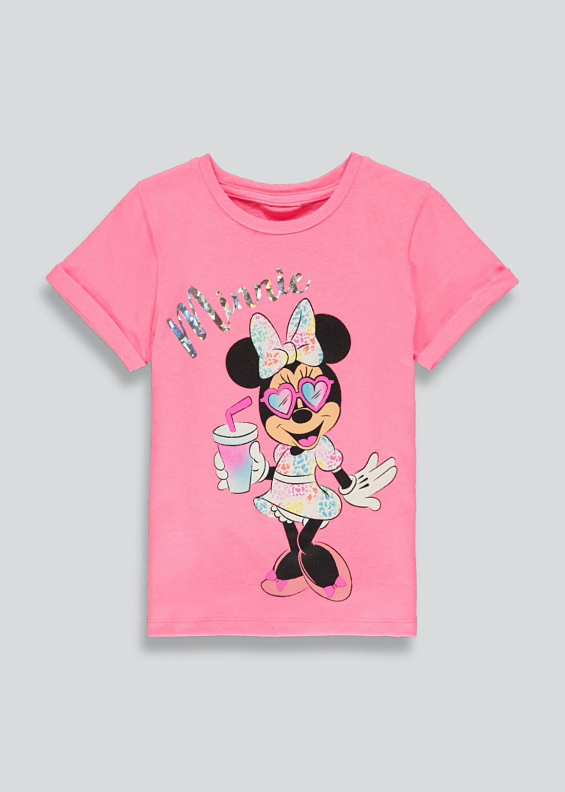 Kids Disney Minnie Mouse T-Shirt (9mths-7yrs)