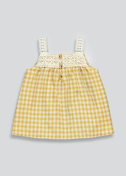 Girls Gingham Vest (9mths-6yrs)