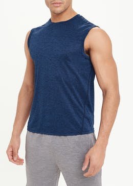 Souluxe Navy Gym Tank Top
