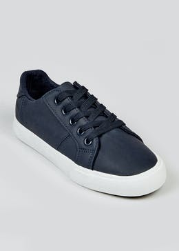 Boys Navy Trainers (Younger 10-Older 6)