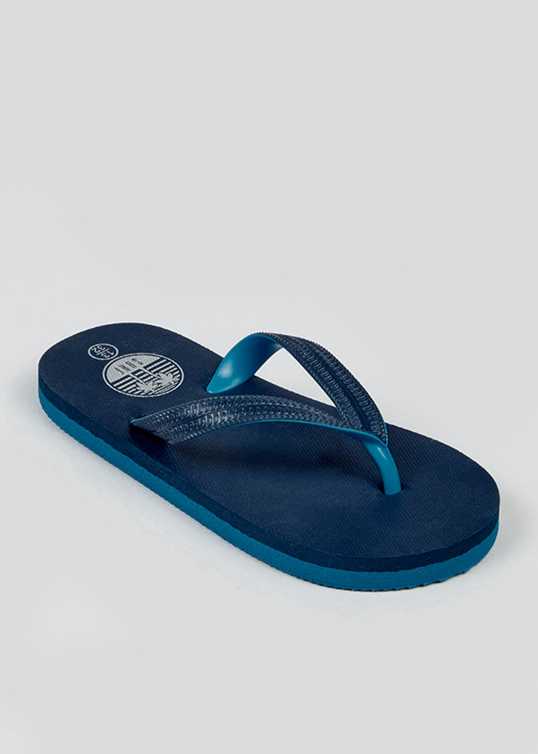 Boys Blue Flip Flops (Younger 10-Older 6)