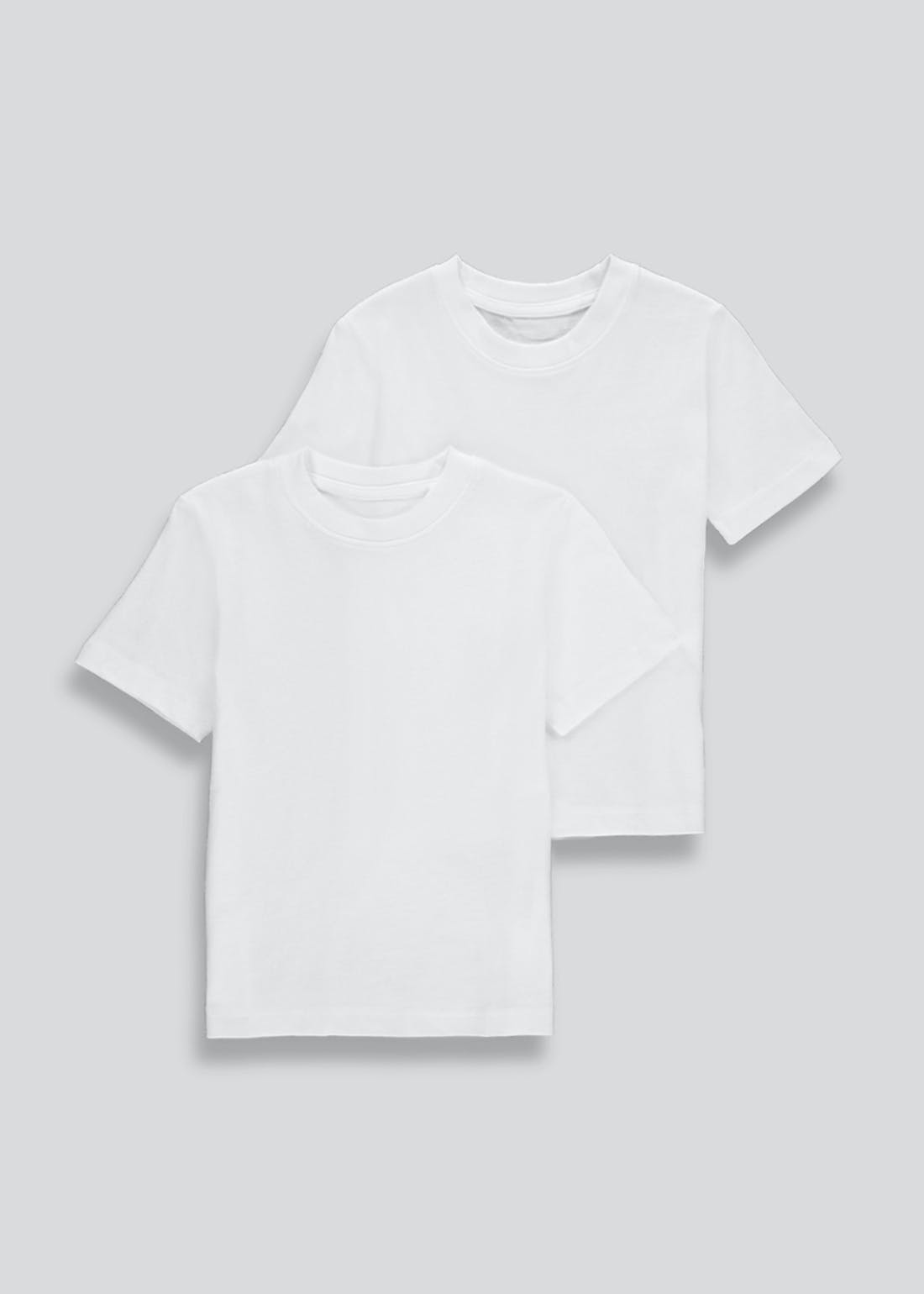 Kids 2 Pack School T-Shirts (3-16yrs)