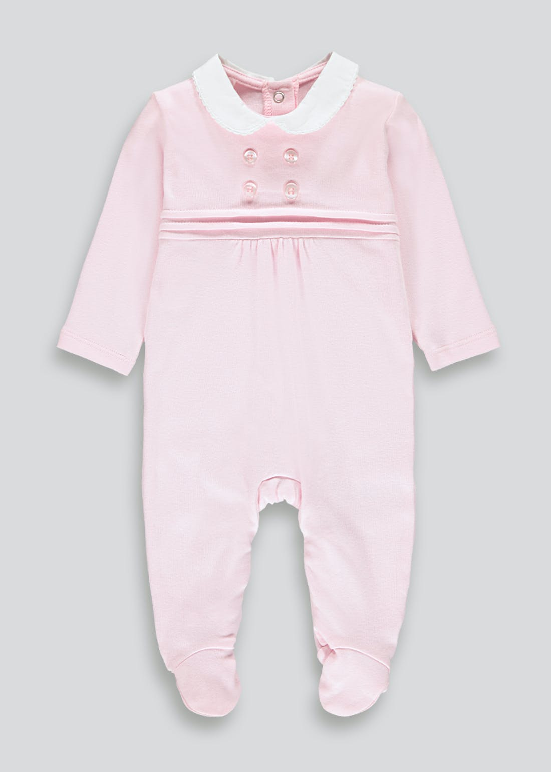 Girls Traditional Baby Grow (Tiny Baby-12mths)