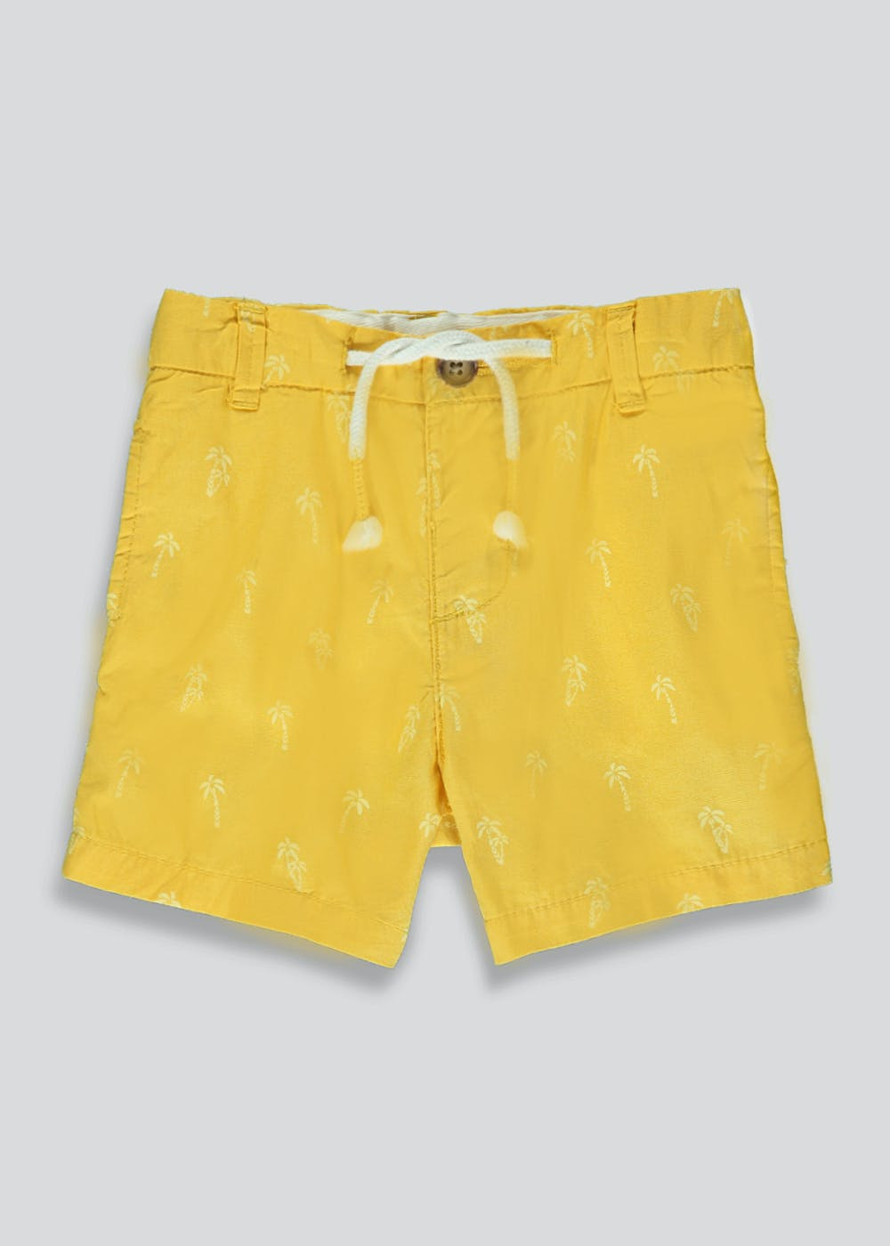 Boys Sustainable Shorts (9mths-6yrs) – Yellow