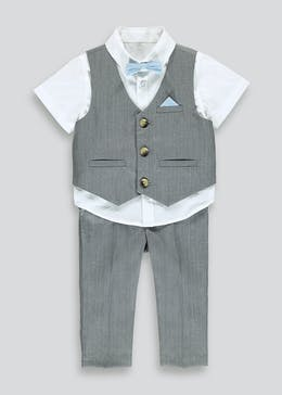 Boys 4 Piece Smart Set (9mths-6yrs)