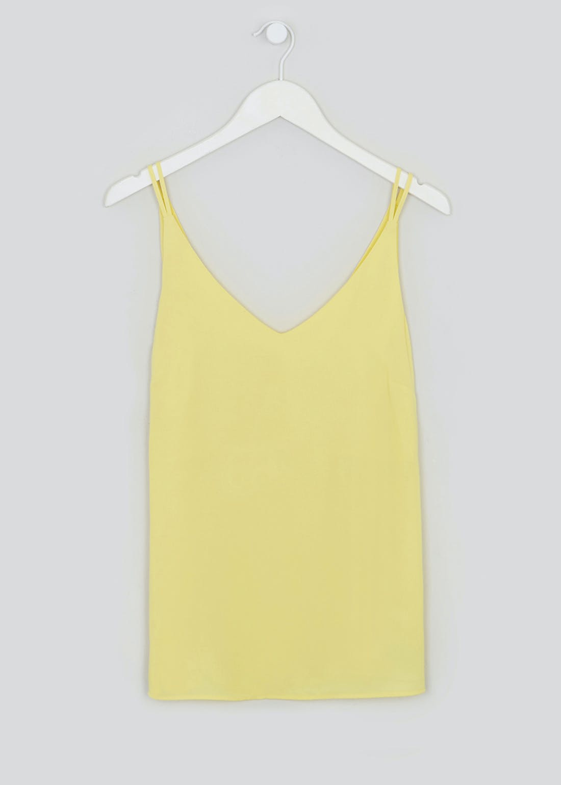 Yellow Double Strap Cami Top