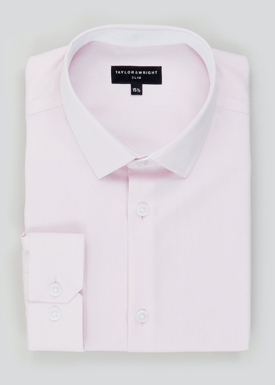 Taylor & Wright Long Sleeve Slim Fit Shirt