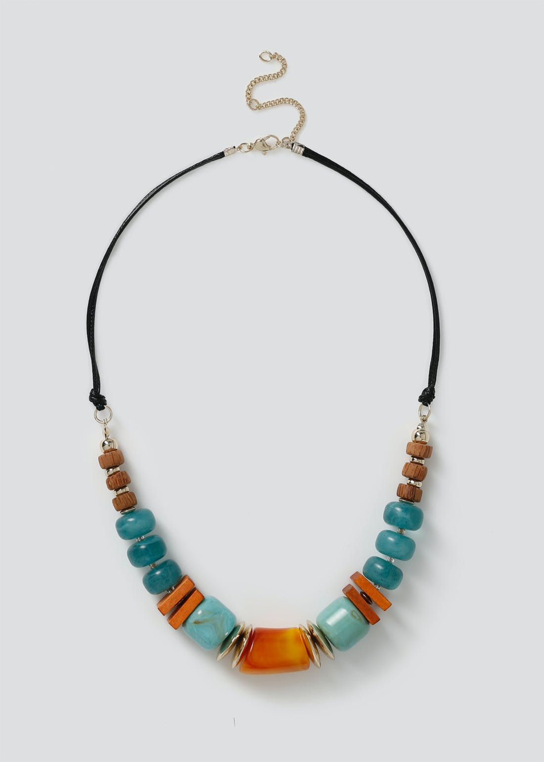Mixed Wood Necklace