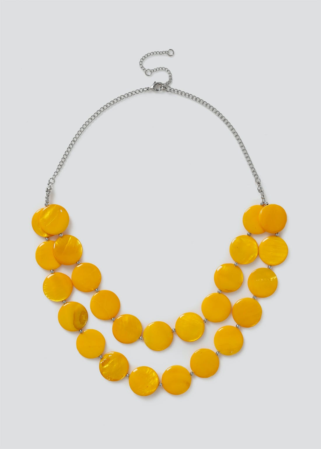 Shell Two Row Necklace