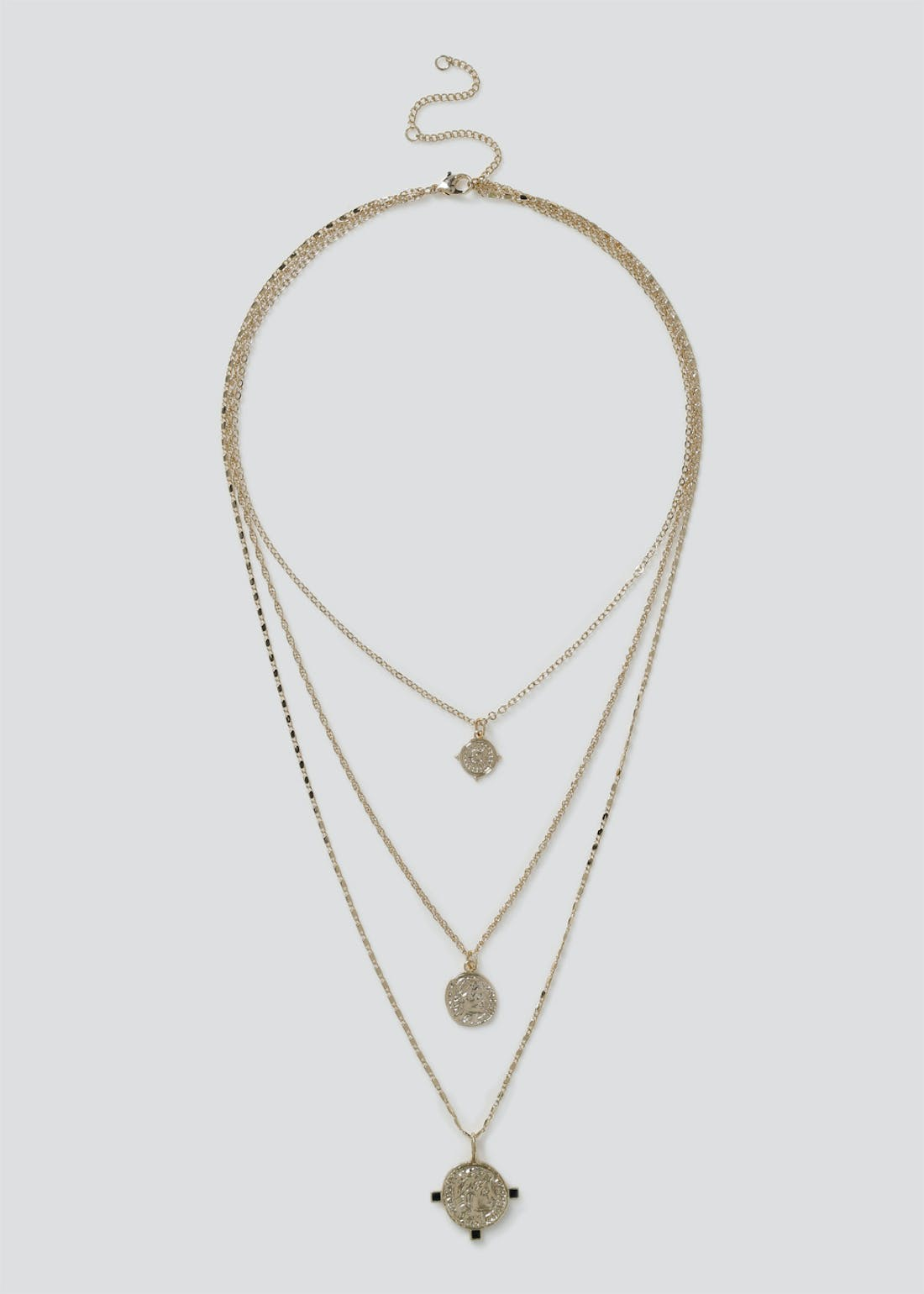 Textured Layering Necklace