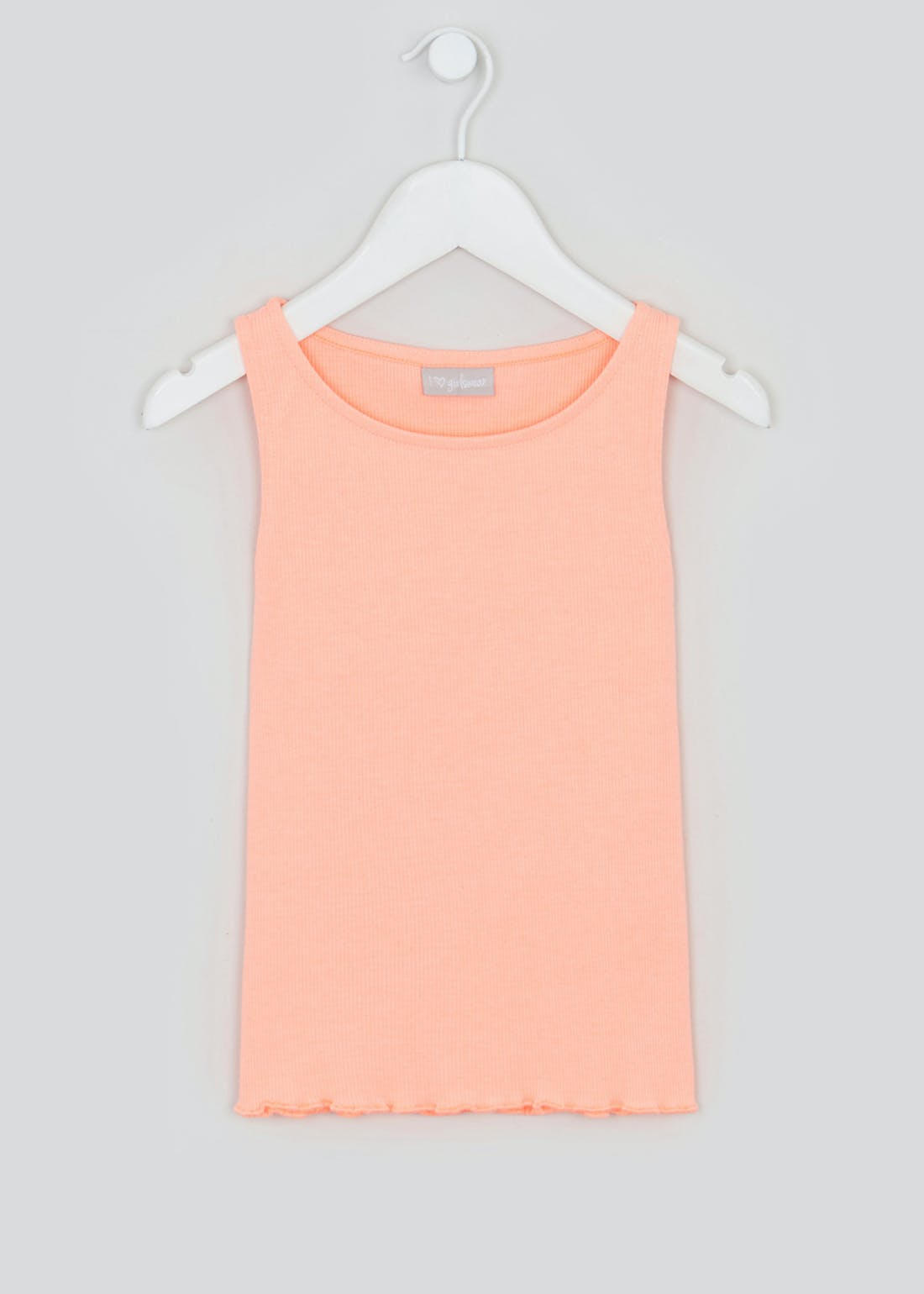 Girls Cotton Vest Top (4-13yrs)