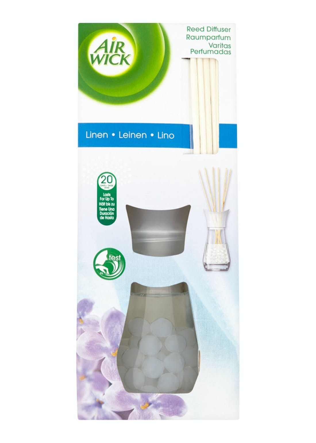 Air Wick Linen Reed Diffuser