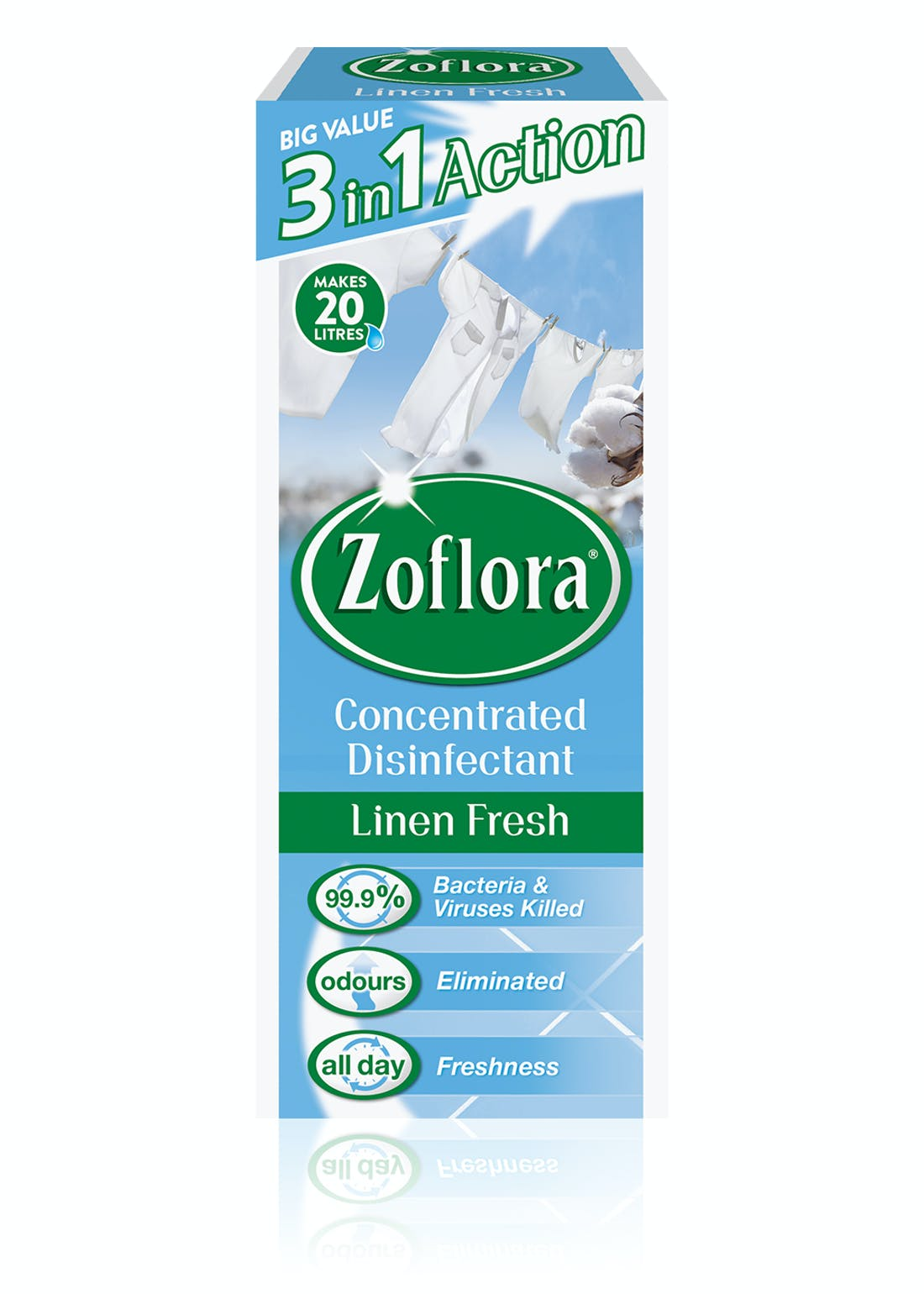 Zoflora Linen Fresh Concentrated Disinfectant (500ml)