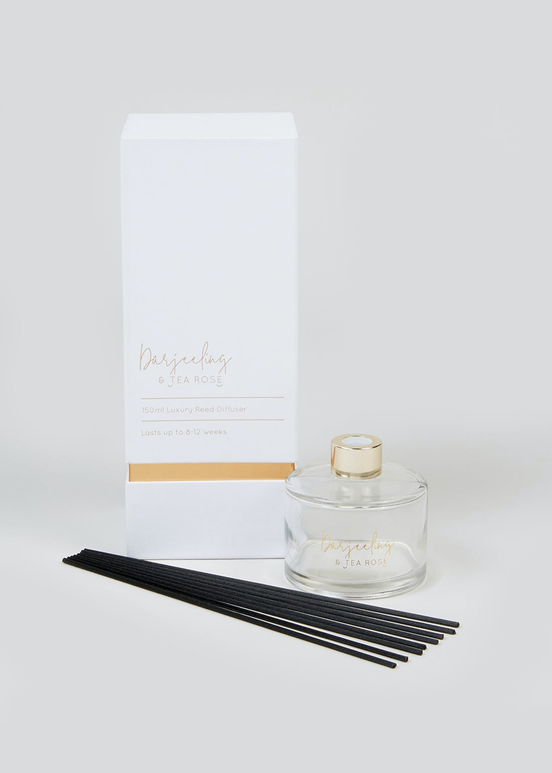 Darjeeling & Tea Rose Luxury Reed Diffuser (150ml)