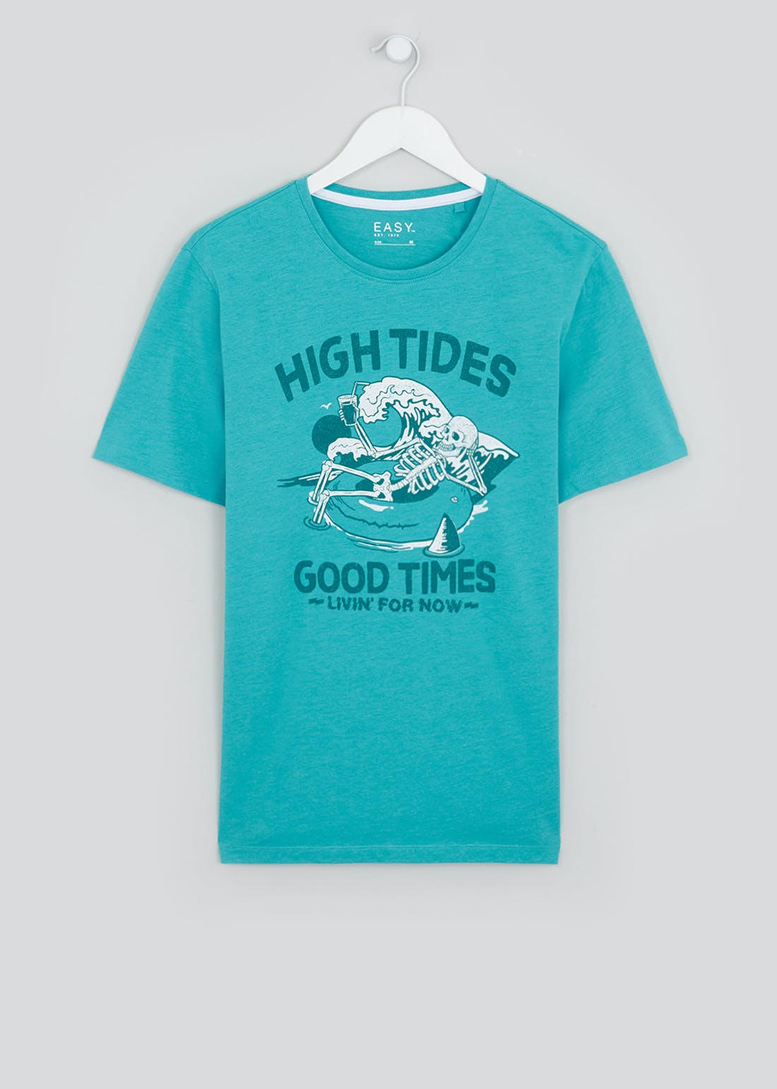 High Tides Slogan T-Shirt