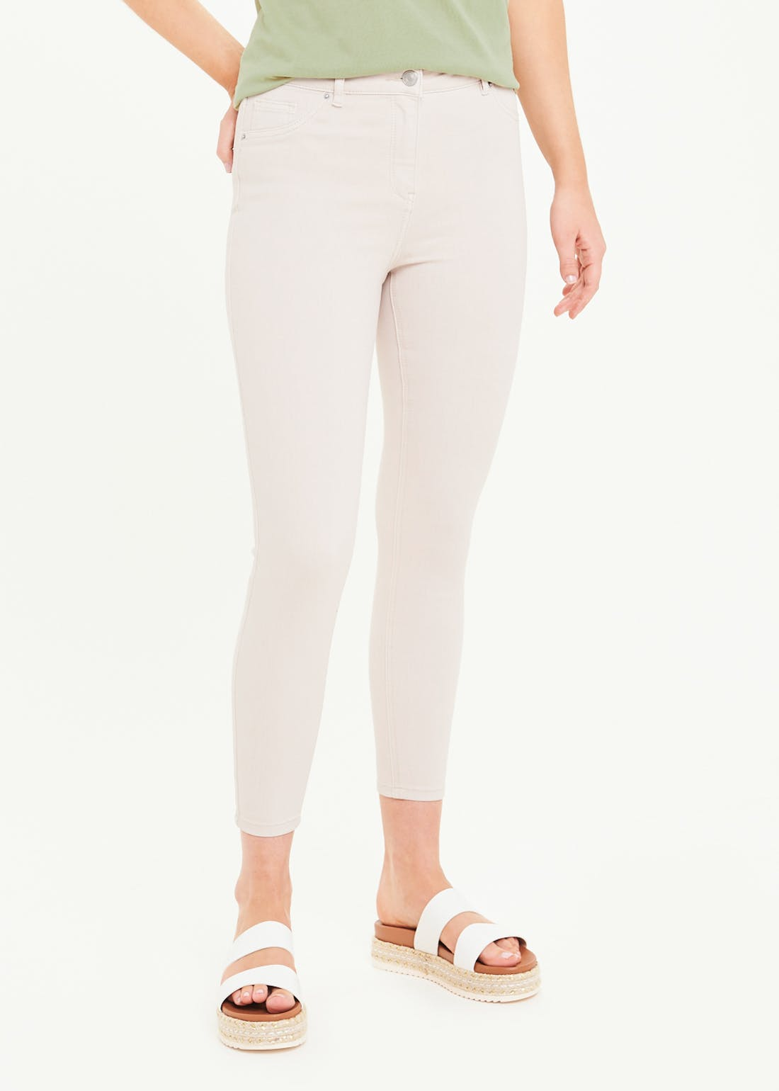 April Skinny Ankle Grazer Jeans