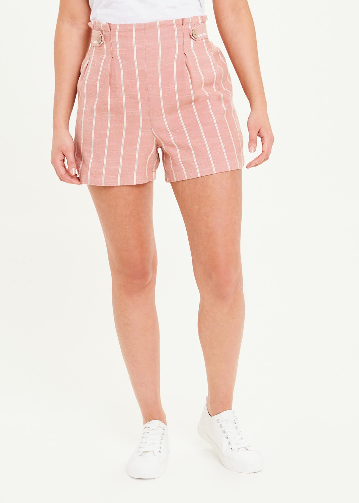 Stripe Co-Ord Shorts