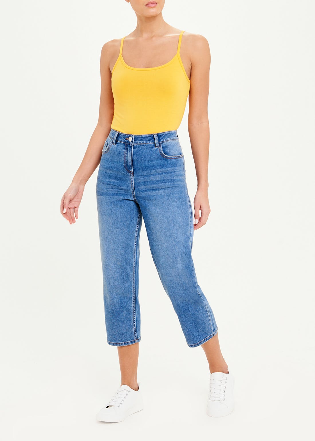 Grace Cropped Straight Jeans