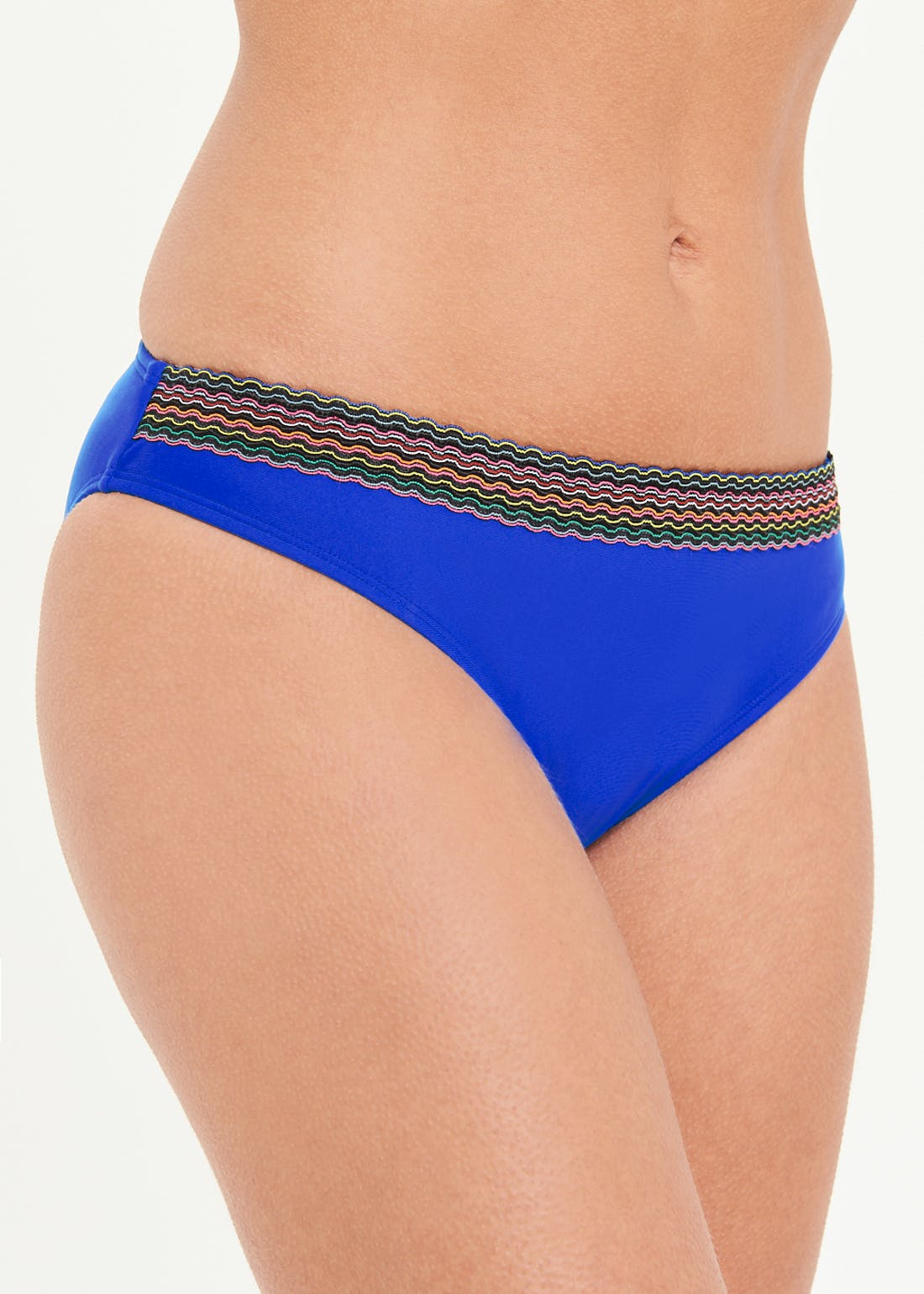 Tape Trim Bikini Bottoms