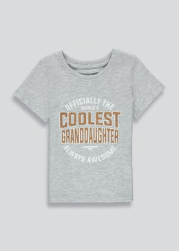 Girls Coolest Granddaughter T-Shirt (9mths-3yrs)